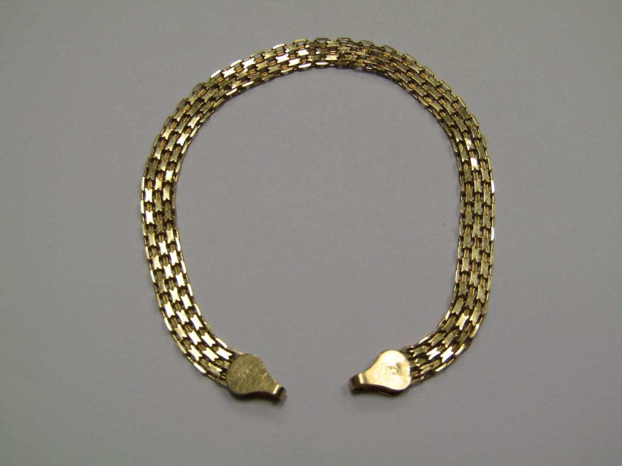 14 K Gold Bracelet #1