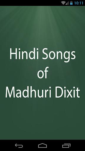 Hindi Songs of Madhuri Dixit