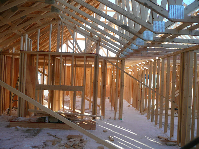 Building of new home in Waukesha, WI - P1030429.JPG
