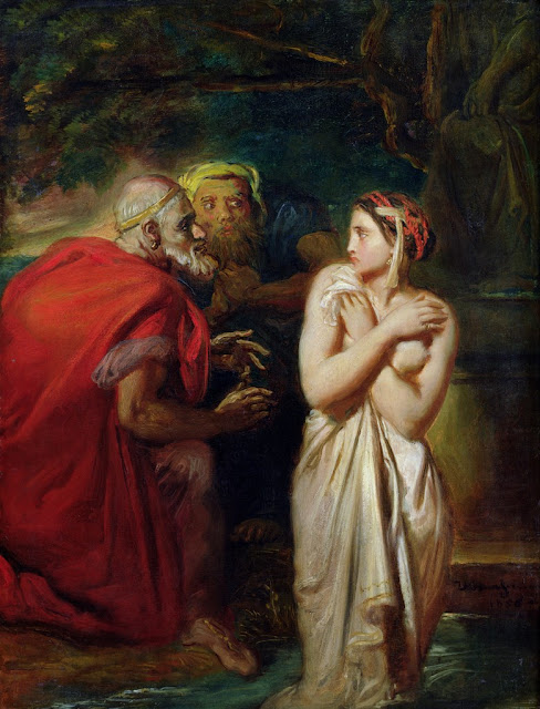Théodore Chassériau - Susanna and the Elders 1856