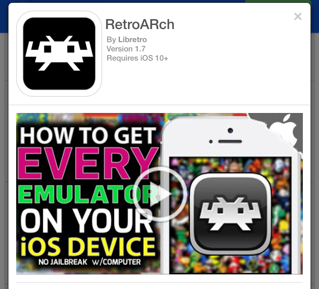 iOS用ゲームエミュRetroArchが利用可能に PS1/NDS/メガドラ