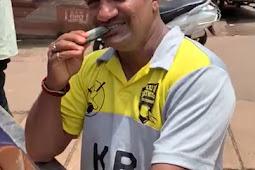 ಮಂಗಳೂರಿನಲ್ಲೊಬ್ಬ ವಿಚಿತ್ರ ಮನುಷ್ಯ: ಈತ ತಿಂತಾನೆ ಹಸಿಹಸಿ ಮೀನು Video