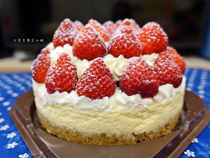 6 士林宣原烘焙蛋糕專賣店 雙層草莓蛋糕 草莓卡士達起士蛋糕