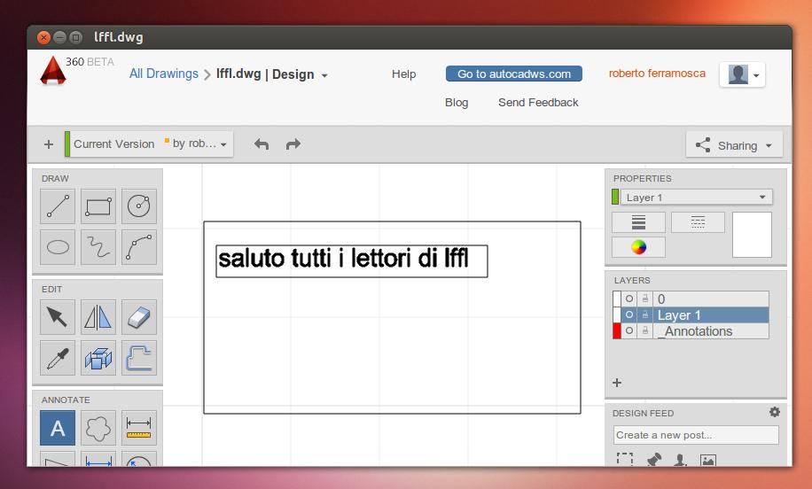 Campagnano r p autocad 360 la versione web del Web cad software