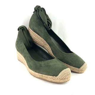 Tory Burch Suede Espadrilles