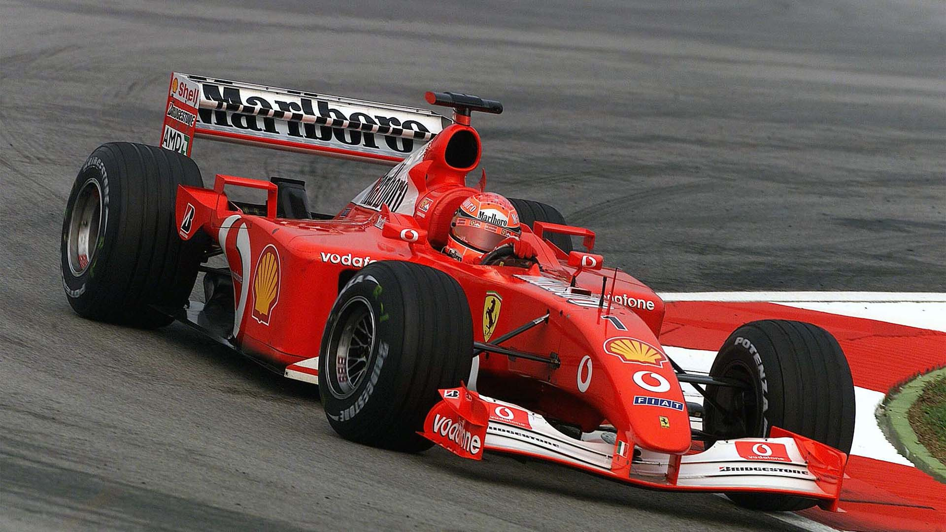 ferrari f2001 michael schumacher - photo #30