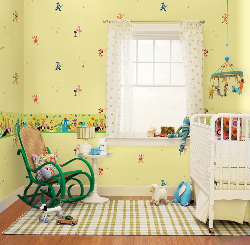 Home christmas decoration bedroom for babies start for Babies bedroom decoration