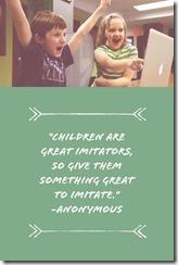 Children Imitate
