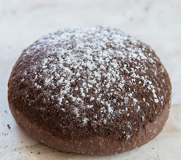 photo of chocolate cookie bread