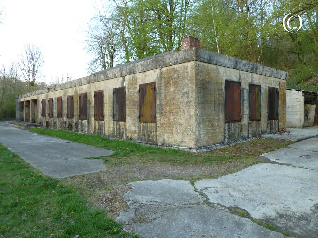 The right wing of fuhrer bunker 001 at margival