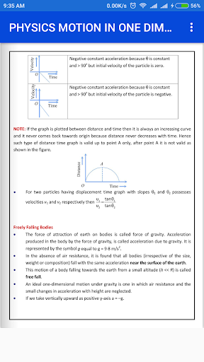 Download PHYSICS MOTION IN ONE DIMENSIONS FORMULA EBOOK Google Play