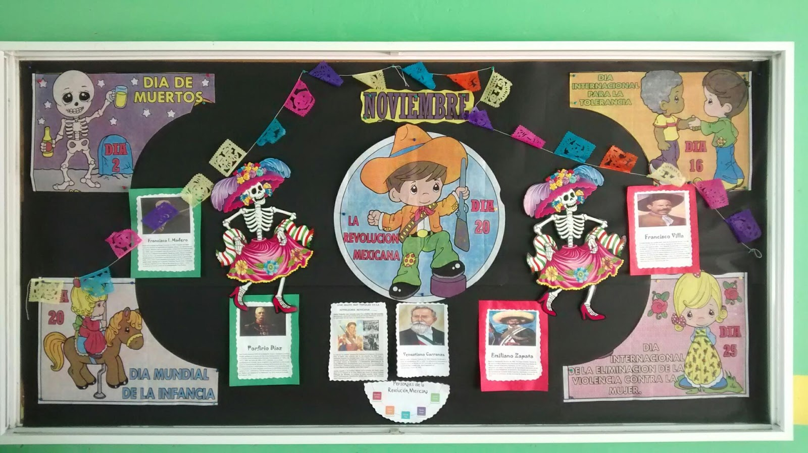 """Escuela primaria """"Nicolás Bravo"""": Nuestro periódico mural"""