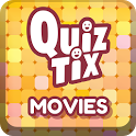 QuizTix: Movies Trivia, A Film Cinema Quiz Game icon