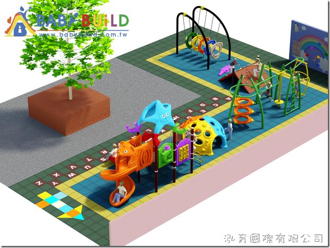 Babybuild 兒童體適能遊戲器材