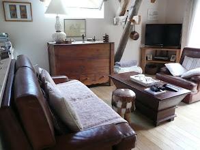 Photo: Appartement 1 - Le salon (TV et DVD)