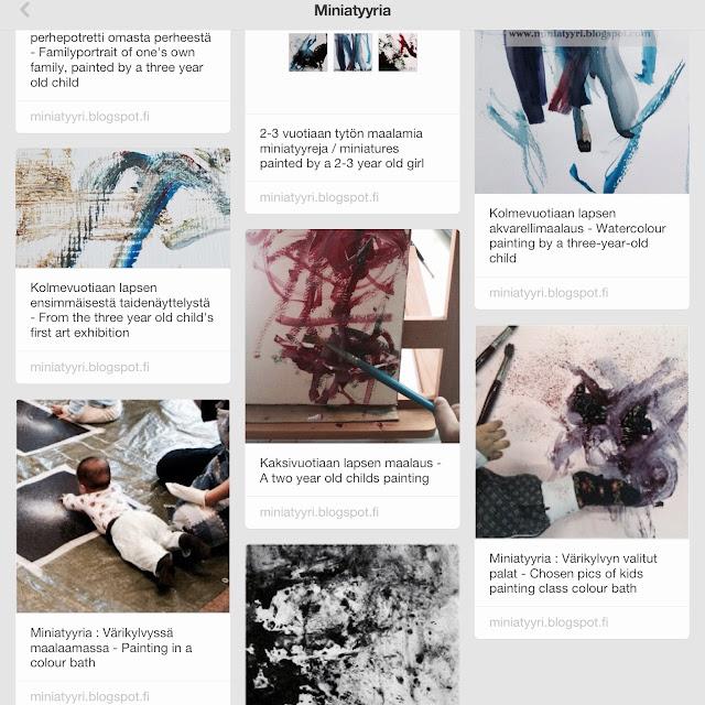 Miniatyyria in Pinterest