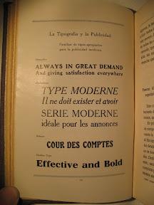 Tipografía «moderna»