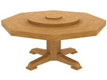 savoy octagonal table