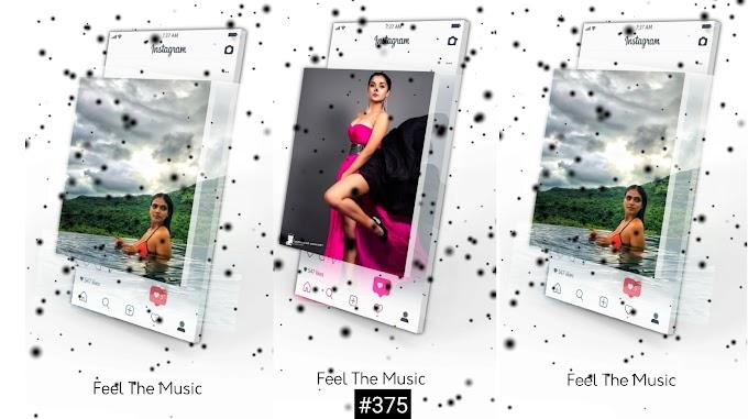 New Viral 3D instagram Full Avee Player Template |#375