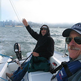Sailing with Tim Cain SF Bay 11/7/06