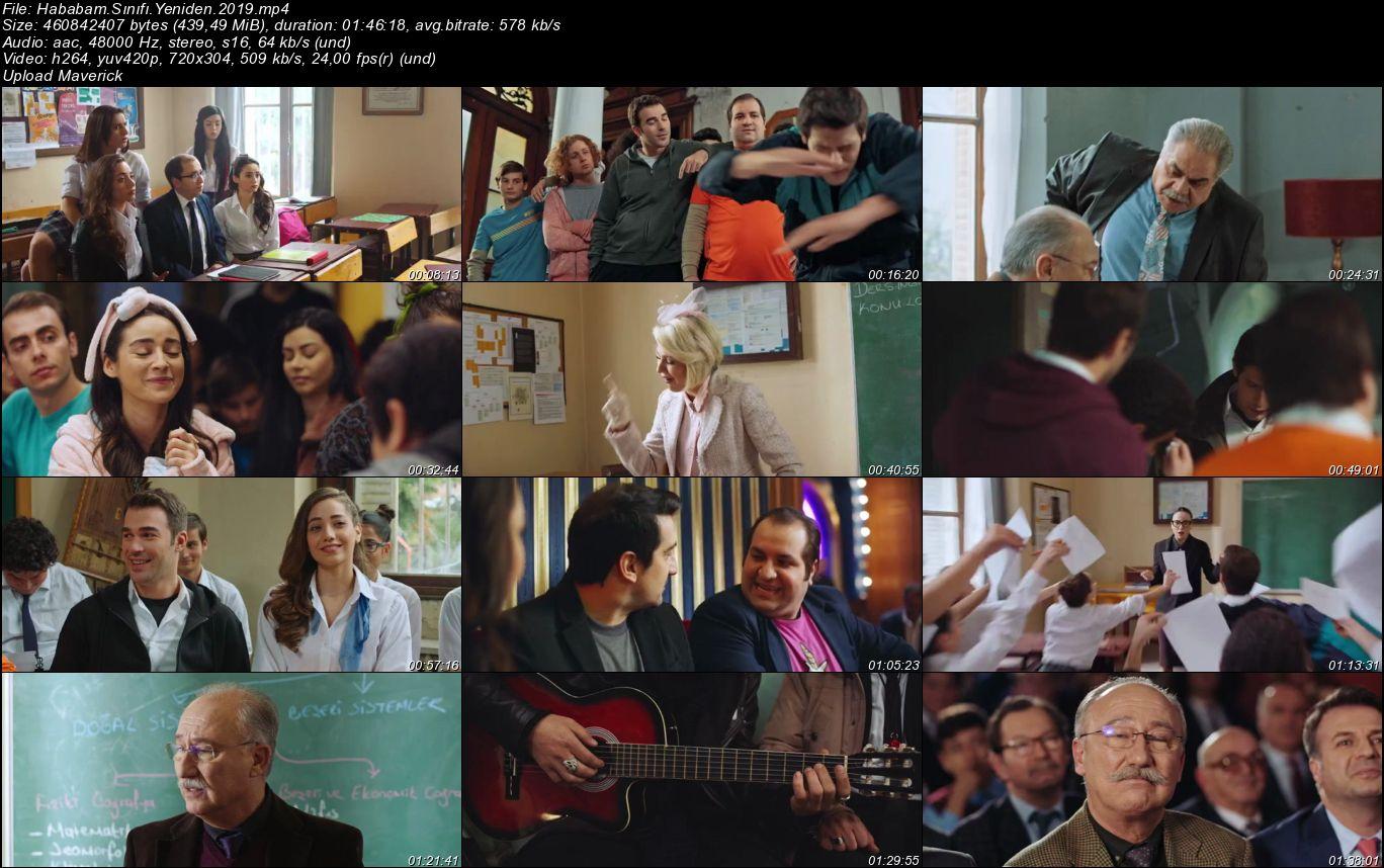Hababam Sınıfı Yeniden - 2019 (Yerli Film) Mp4 indir