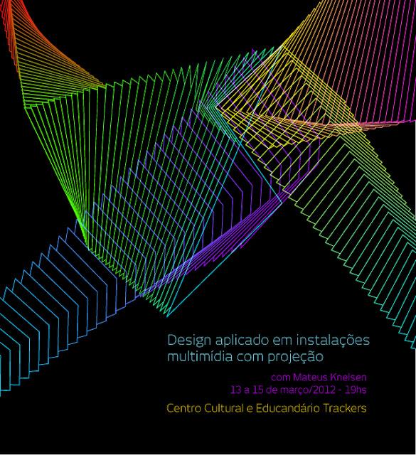 design aplicado a instalações multimídia com projeção