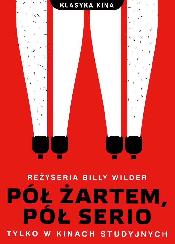 Ulotka filmu 'Pół Żartem, Pół Serio (przód)'