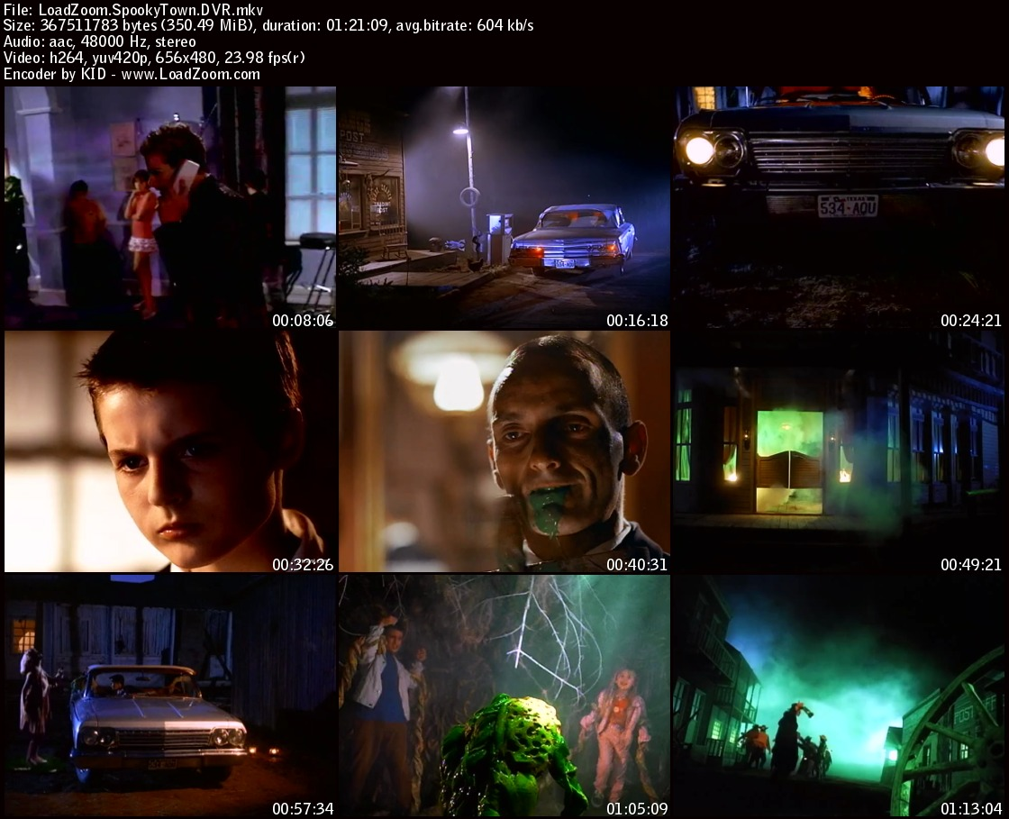movie screenshot of Spooky Town fdmovie.com