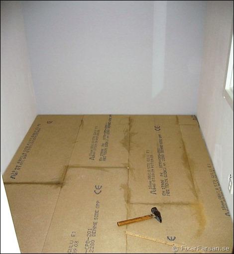 h ja betonggolv med cellplast l gga laminat fixarfarsan. Black Bedroom Furniture Sets. Home Design Ideas