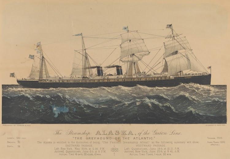 Litografia del ALASKA. Royal National Maritime Museum.jpg