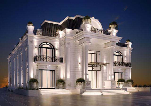 Những mẫu biệt thự tân cổ điển có thiết kế đẹp mắt & ấn tượng nhất