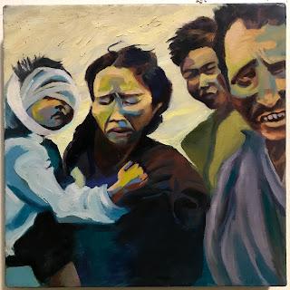 LaRoe Oil Painting #1