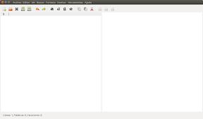 uText editor de texto markdown, interface