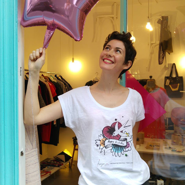 t-shirt anniversaire hazar and co boutique createurs