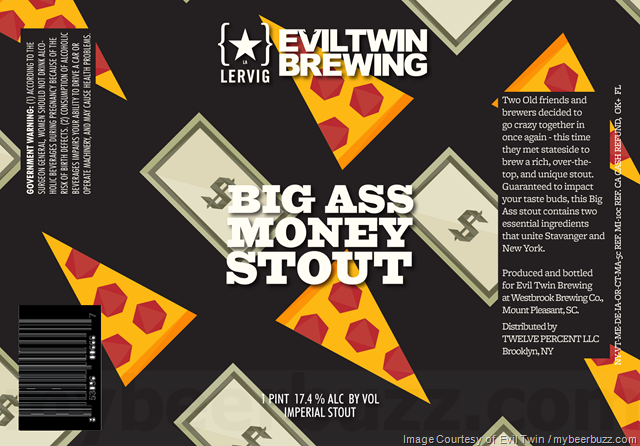 Evil Twin & Lervig Collaborate On Big Ass Money Stout