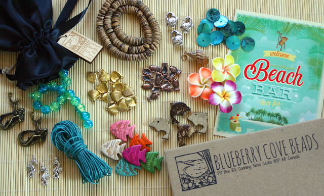 Caribbean Bead Box from Blueberry Cove Beads
