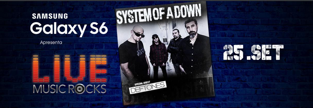 ATENÇÃO: Show do System of a Down em São Paulo tem horário alterado