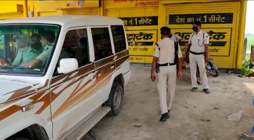 गैस कर्मचारी से गोली मारकर तीन लाख 26 हजार रुपए की हुई लूट।
