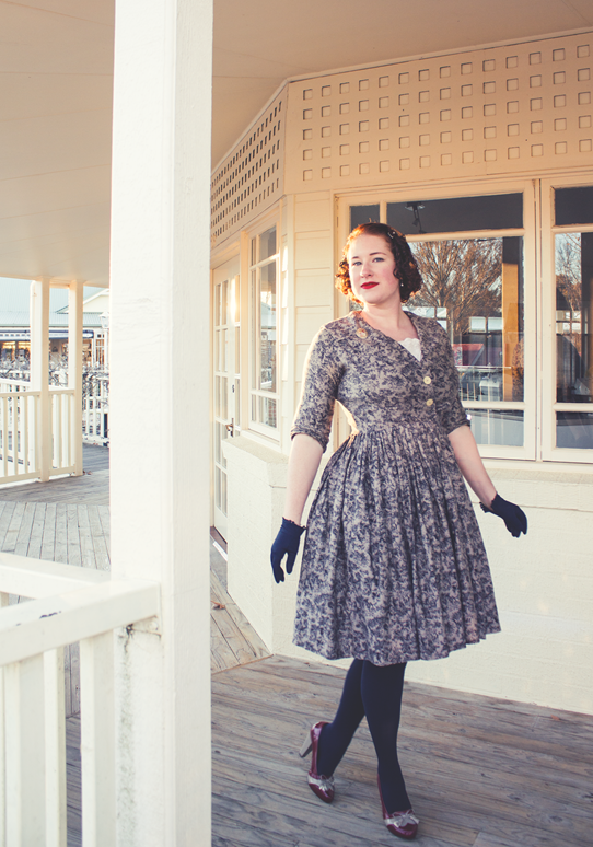 Wearing vintage for every occasion | Lavender & Twill