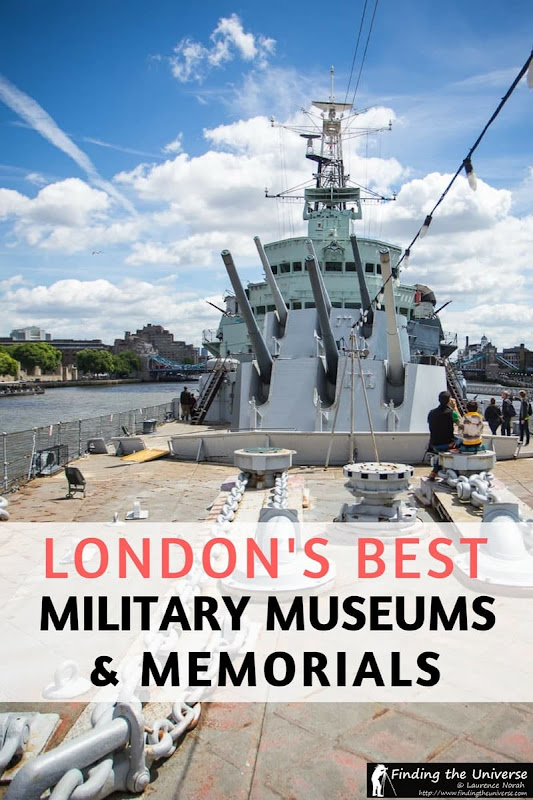A guide to London's Military Museums and Memorials! The capital of the UK has some of the best military museums, covering a wide range of themes, and are a must when visiting the city!