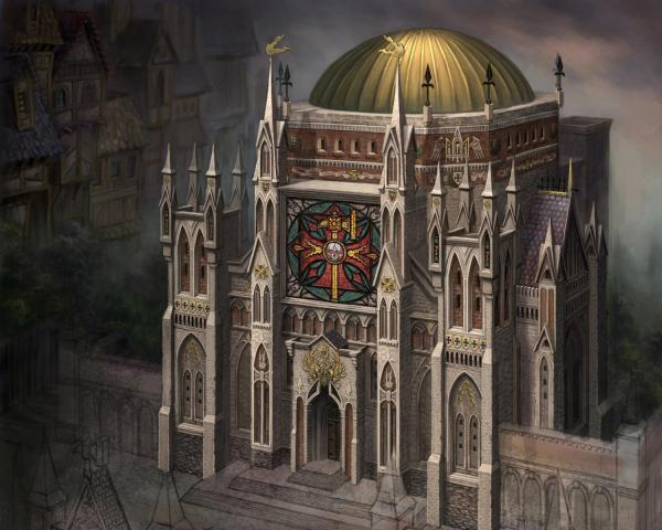 Stronghold Of The Order Of The Red, Magical Landscapes 2