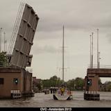 Byebye London Goedemorgen Amsterdam 8->18 mai 2013