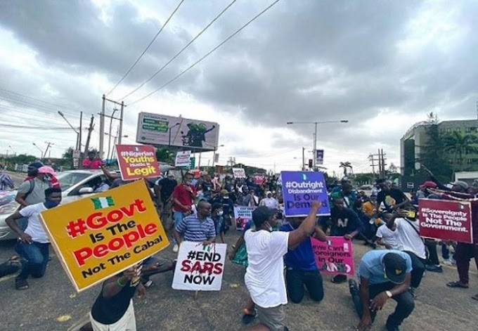 18 Year Old Girl Arrested During ENDSARS Protest Gives Birth In Prison
