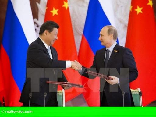 Hình 1: Trung Quốc - Nga ký thỏa thuận xây dựng đường sắt và cảng biển