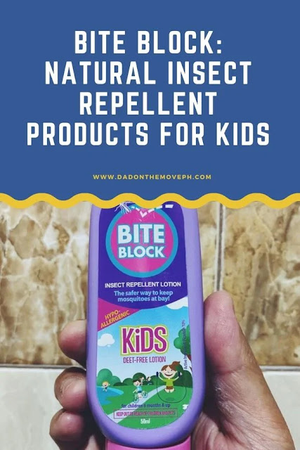 Bite Block natural insect repellent lotion review