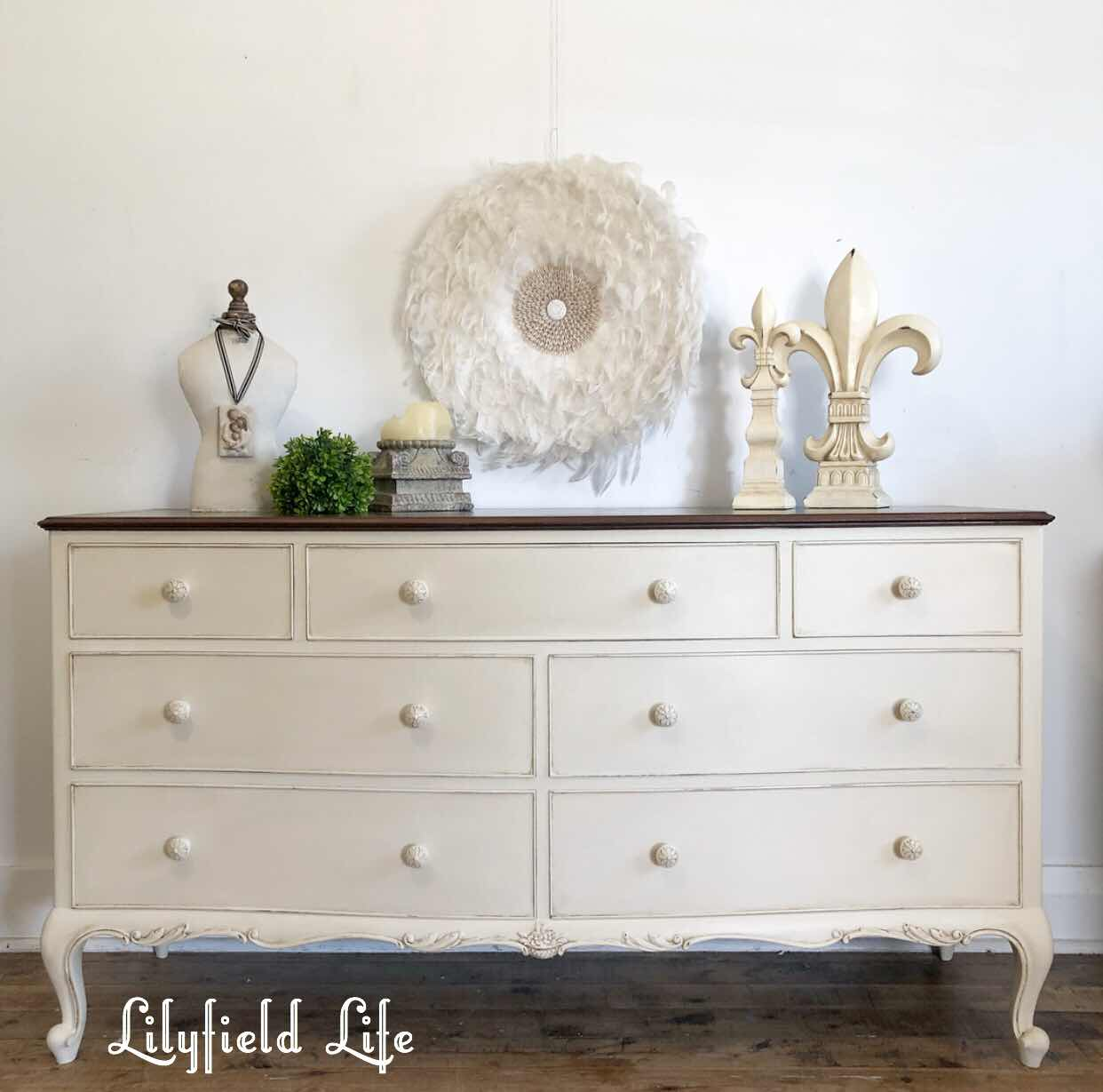 Lilyfield life chest of drawers hand painted