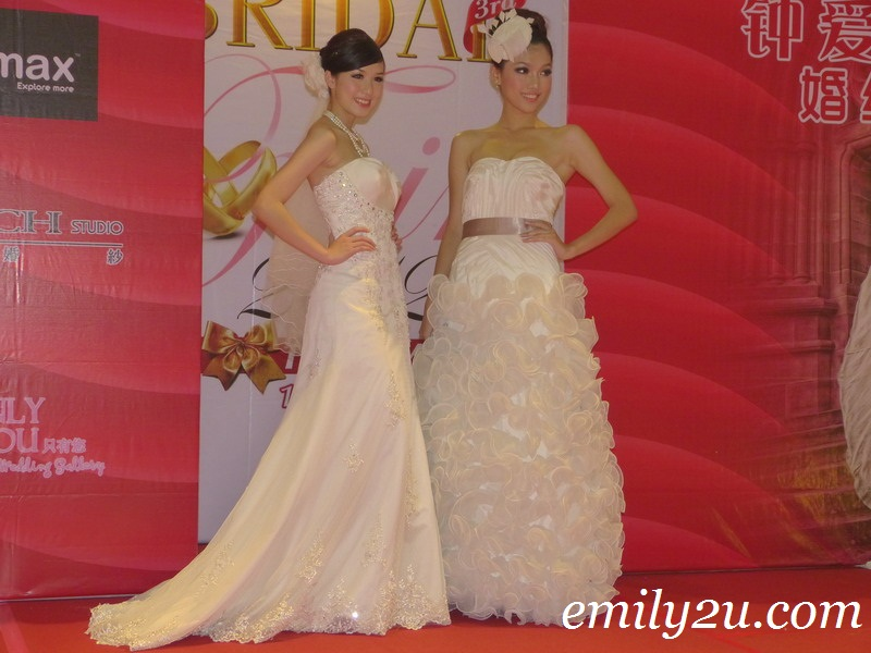 Ipoh Parade Bridal Fair fashion show