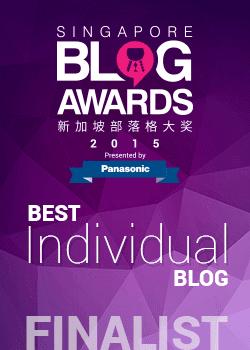 Singapore Blog Awards 2015