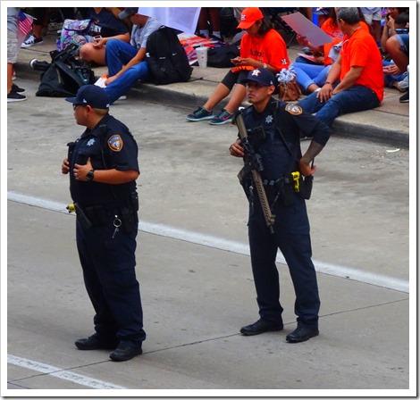 police presense