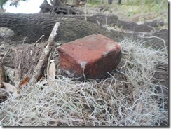 Old brick-possibly from old saw mill